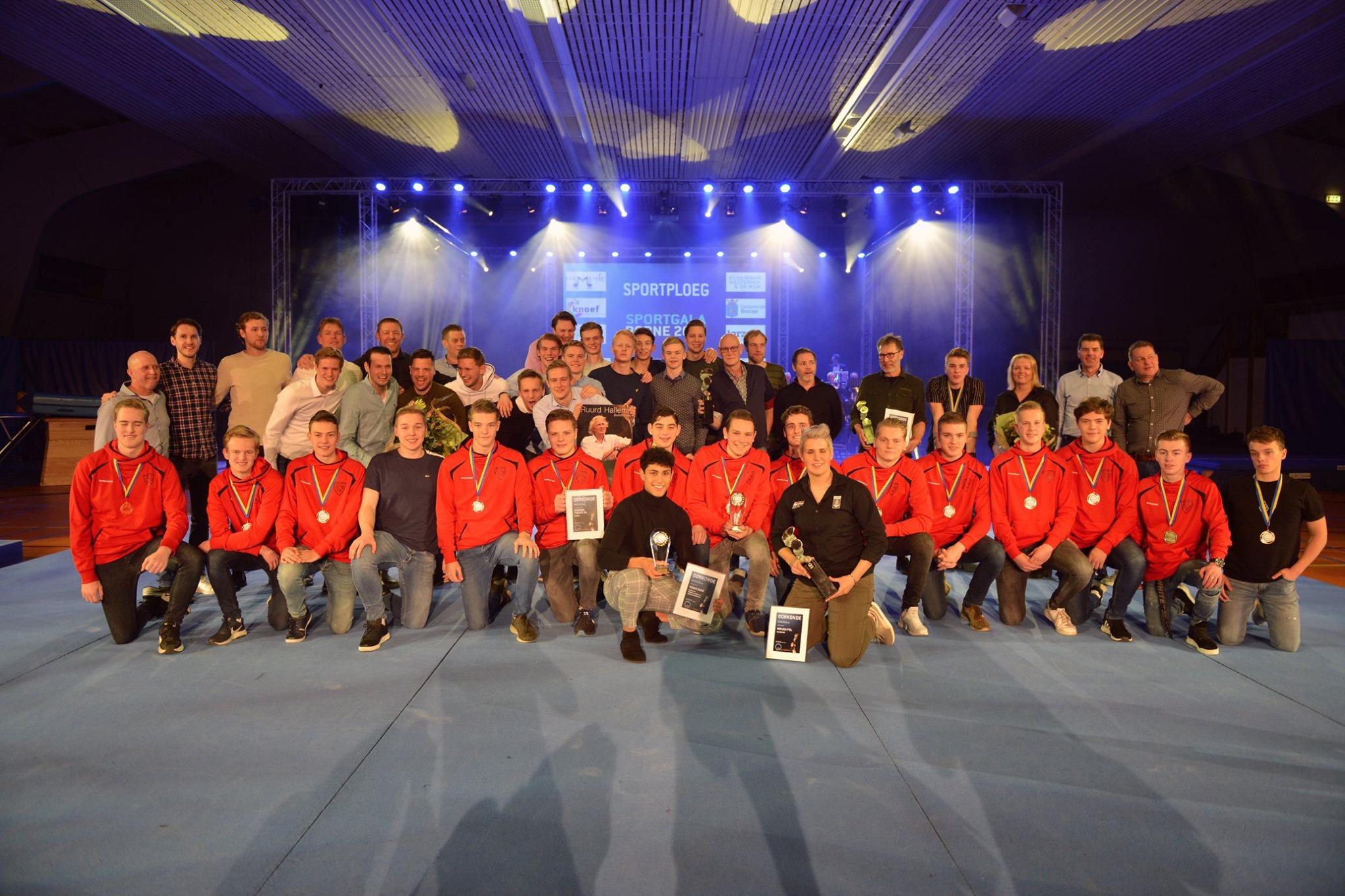 Handbal Twente B jeugd Jeugdsportploeg 2019